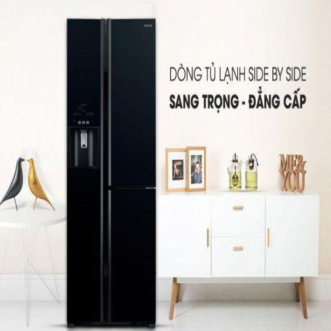 Tủ lạnh Side by side HITACHI R-FM800GPGV2 (GBK) 584 Lít Inverter